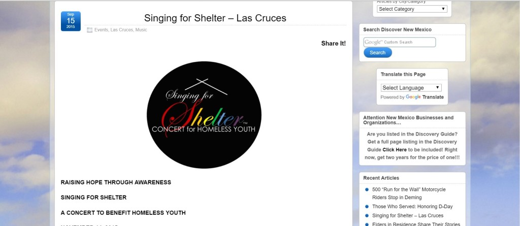 Singing for Shelter – Las Cruces – Discover New Mexico.jpg